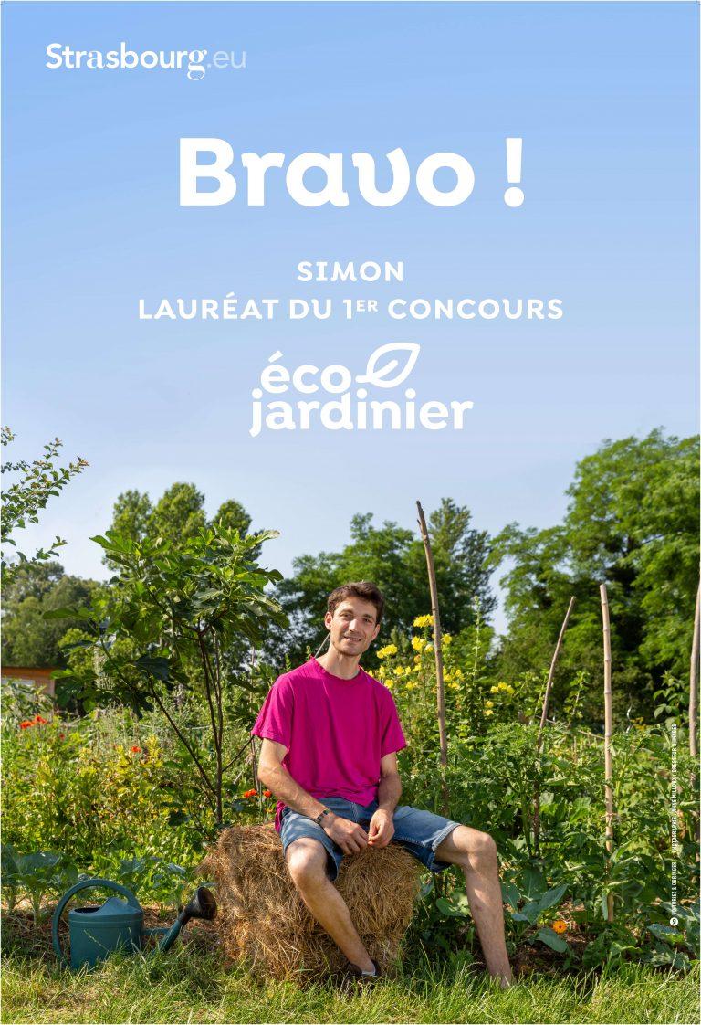 Concours éco-jardinier Strasbourg